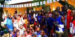 People, Social group, Community, Team, Temple, Active shorts, Youth, Endurance sports, Running, Long-distance running,