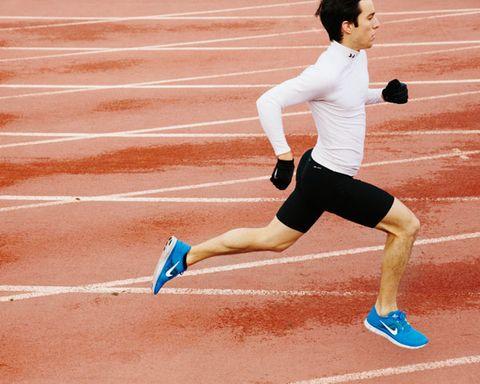 Track and field athletics, Human leg, Human body, Running, Shoe, Athletic shoe, Athlete, Line, Sports, Knee,