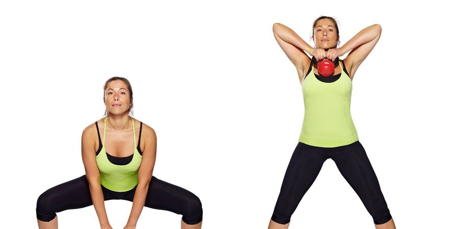 Do This 5 Minute Waistline Tightener Full Body Routine in ... |Kettlebell Waist