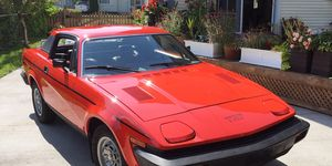 Project:TR7 is back among the living, looking good and running well.