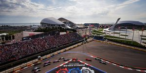 The Russian Grand Prix appears likely to stay a day race amongrumors it could change venues.