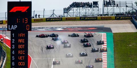 The Formula 1 U.S. Grand Prix is set for Nov. 3 in Austin, Texas.