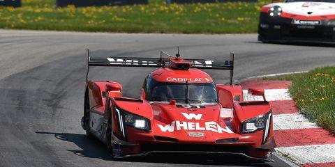 Felipe Nasr turned the quickest practice lap on Friday morning in Detroit.