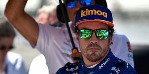 Fernando Alonso's Indy 500 effort wasn't ecactly what he had in mind.