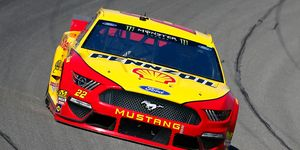 Joey Logano won his 22nd career pole on Saturday at Michigan International Speedway.