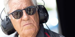 All-time racing great Mario Andretti wants noise, and lots of it, to go with his racing action.