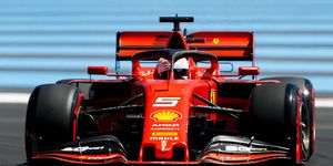 Sebastian Vettel finished seventh in qualifying for the F1 French Grand Prix.