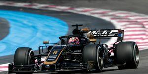 Romain Grosjeanfinished last in the 20-car Formula 1 field in France.