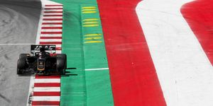Romain Grosjean showed increased pace on Friday at the Red Bull Ring but Haas bosses remain unimpressed.