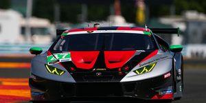Brandon Gdovic has made the transition from NASCAR to the more exotic Lamborghini Super Trofeo Series.