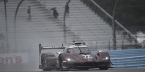 Jarvis clocked a best lap of 1 minute, 29.639 seconds (136.547 mph) around the 3.4-mile circuit, breaking Pipo Derani's previous track record of 1:34.405 set in 2017 by almost five seconds.