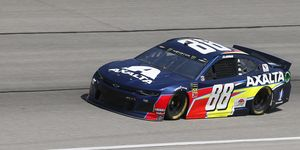 Alex Bowman led 88 laps en route to his first career Cup victory.