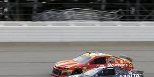 Kyle Larson and Alex Bowman dueled in dirty air to exciting results last month at Chicagoland Speedway.