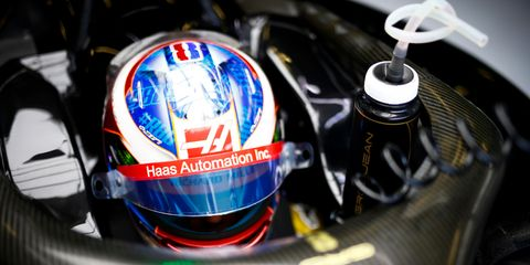 Romain Grosjean is in his fourth year with the Haas F1 Team.