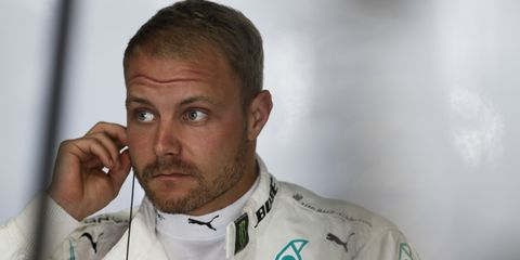 Valtteri Bottas will be a free agent at the end of the season unless he re-ups with the Mercedes Formula 1 team.