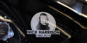 An autopsy revealed that NASCAR crew chief Nick Harrison died with alcohol, cocaine and oxycodone in his system.