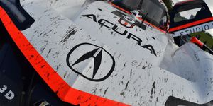 Graham Rahal is in for Alexander Rossi at Acura Team Penske for Petit Le Mans.