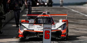 One rival accused Acura Team Penske of sending coded signals to the No. 6 Penske Acura DPi at Road America.