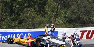 IndyCar drivers are largely ready to stop talking about the first lap crash that marred Pocono on Sunday.