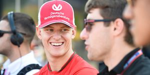 Mick Schumacher appears to be closing in on a call to racing's big leagues and a Formula 1 ride.
