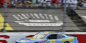 Dale Earnhardt Jr. started 14th and finished fifth Saturday at Darlington.