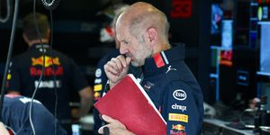 Red Bull Racing chief technical officer Adrian Newey