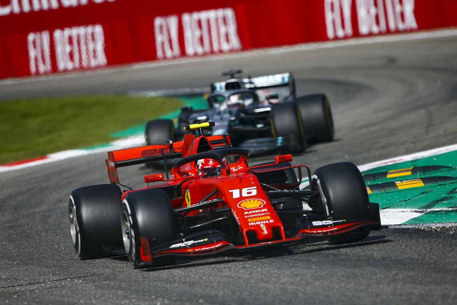 F1 Italian Grand Prix Results Charles Leclerc Ends Ferrari Drought At Monza