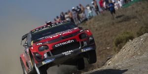 Sébastien Ogier finished 34.7 seconds ahead of longtime leader Esapekka Lappi to claim his first victory since March and climb to second in the standings.