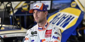 Denny Hamlin has driven for Joe Gibbs Racing since he entered the Monster Energy NASCAR Cup Series in 2005.