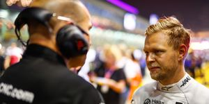 Kevin Magnussen is 16th in the latest Formula 1 driver standings.