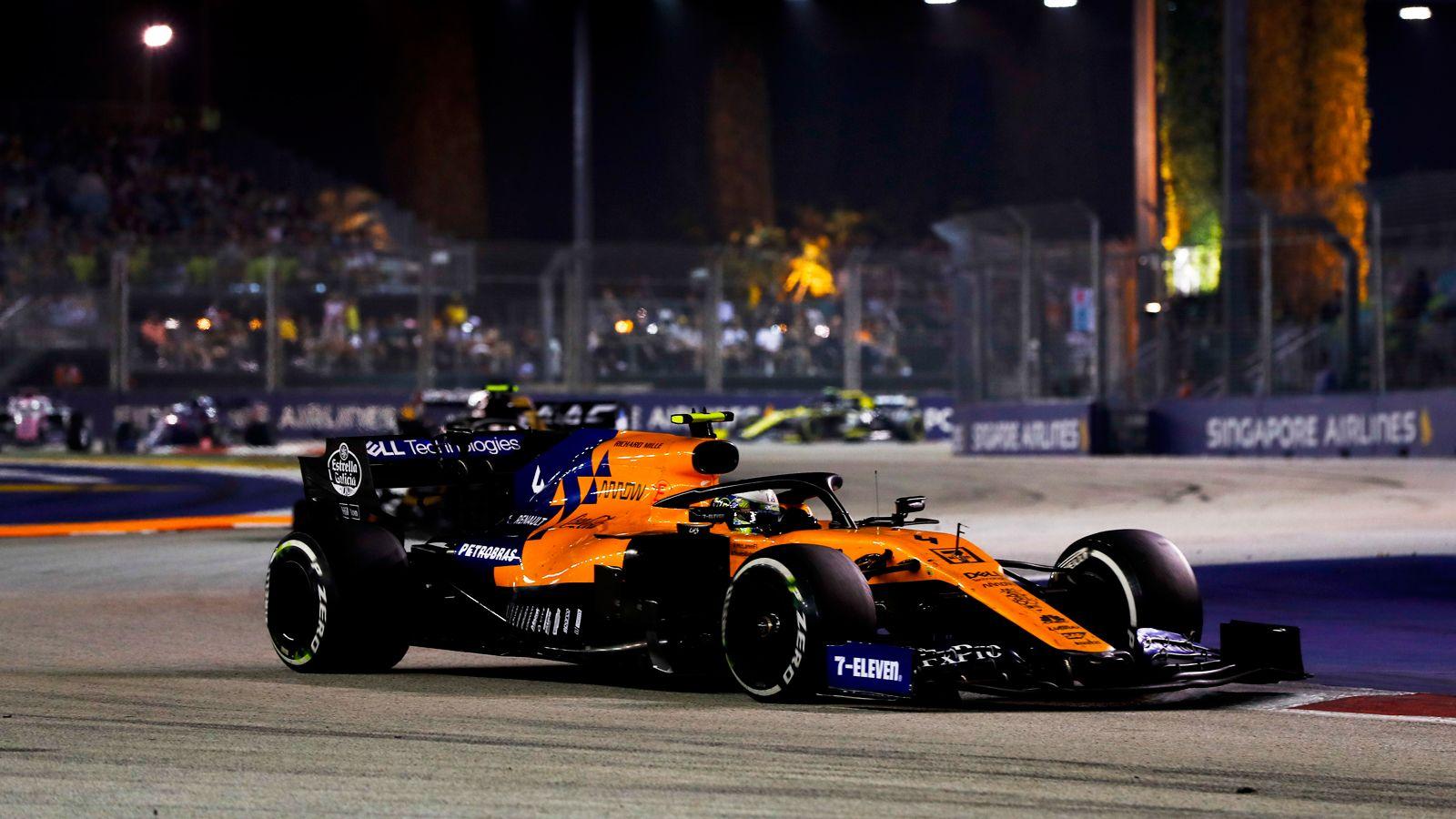 Mclaren S Lando Norris Critical Of Sunday S F1 It S Not Racing