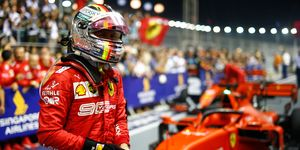Sebastian Vettel snapped a year-long winless streak with the victory in Singapore.
