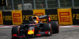 Max Verstappen has finished outside the top five just twice this season in Formula 1.