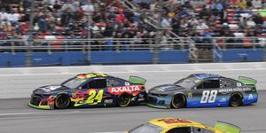 William Byron, Alex Bowman and Joey Logano all face potential elimination next weekend at Kansas.