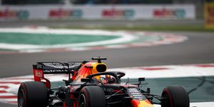 The pole would have been the second of the season for Max Verstappen and the second of his career.