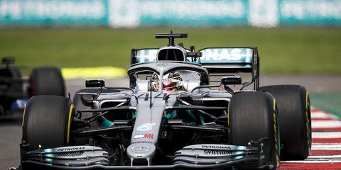 Lewis Hamilton had not won since the summer break.