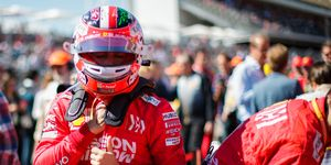 Charles Leclerc has his sights set on a third-place finish in the F1 drivers' championship.