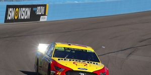 Joey Logano couldn't immediately explain why the handling of his dominant car went away at the halfway point at Phoenix.