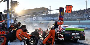 Martin Truex Jr. finished second in the 2019 Monster Energy NASCAR Cup Series standings behind champion Kyle Busch.