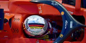 Sebastian Vettel was fifth quickest in qualifying for Sunday's F1 Abu Dhabi Grand Prix.