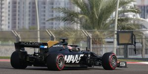 Romain Grosjeanputs proposed 2020 tires through their paces at Abu Dhabi.