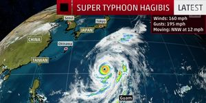 Super Typhoon Hagibis appears likely to impact the Japanese Grand Prix this weekend.