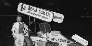 Bobby 'Scruffy' Allen in 1977 -- the year before the World of Outlaws was formed.