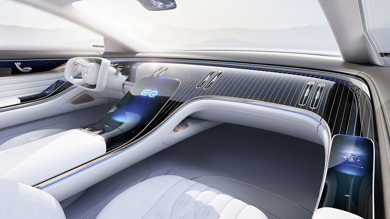 The Mercedes Benz Eq Interior Is Everything Great About Concept Cars