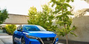 This is the 2020 Nissan Sentra sedan.