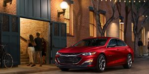 This 2019 Chevy Malibu comes with a 1.5-liter turbocharged I4 making 160 hp.