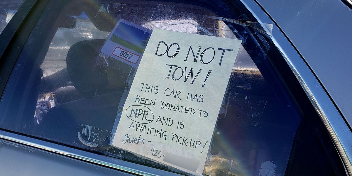 Will a promise to donate your illegally parked car save it from being towed?