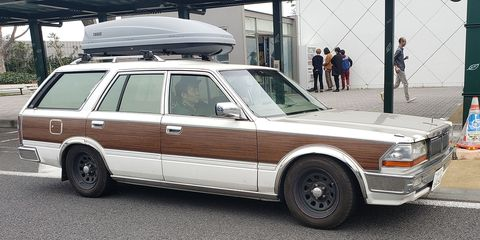 I thought it was a Toyota Cressida wagon at first glance. We never got this car in North America.