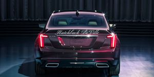 Once Cadillac goes to EVs, we'll see names on the back instead of alphanumerics.