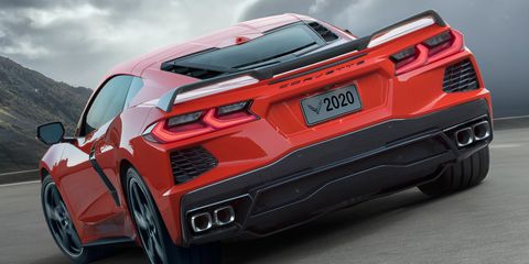 The 2020 Chevy Corvette Stingray tops <em>C&amp;D's</em> 10Best list.